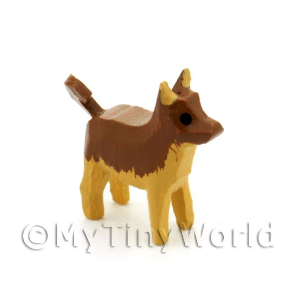 German Dolls House Miniature Small Standing Dog