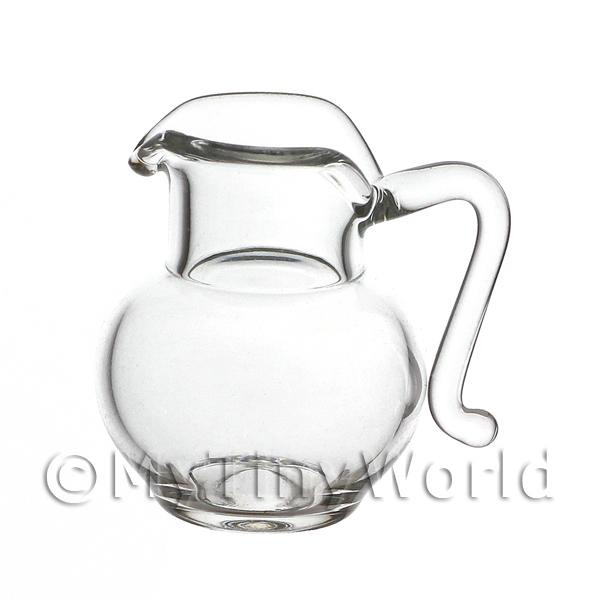 20mm Dolls House Miniature Glass Serving Jug
