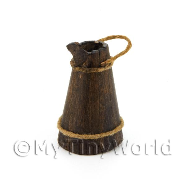 Dolls House Miniature Slatted Tudor Water Carrier