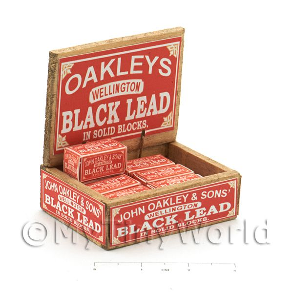 Dolls House Miniature  | Dolls House Filled Oakleys Lead Shop Counter Display Box