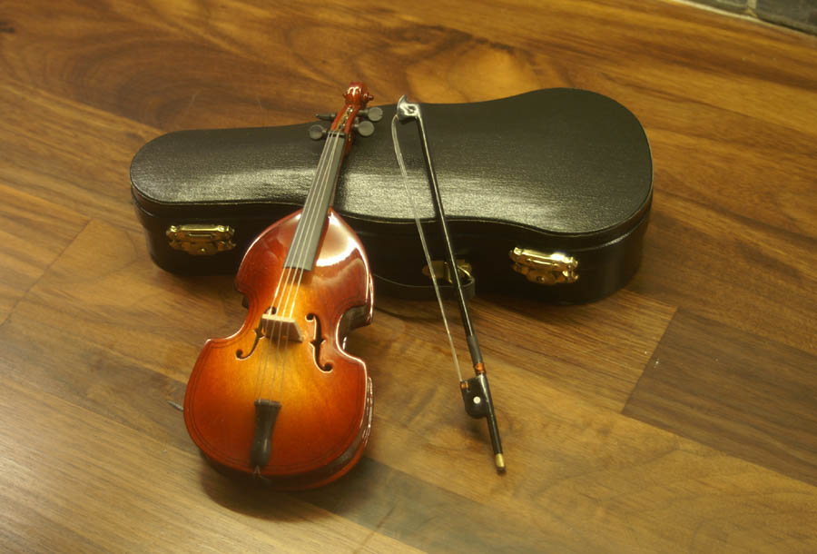 Dolls House Miniature  | [EOL]Dolls House Miniature Double Bass