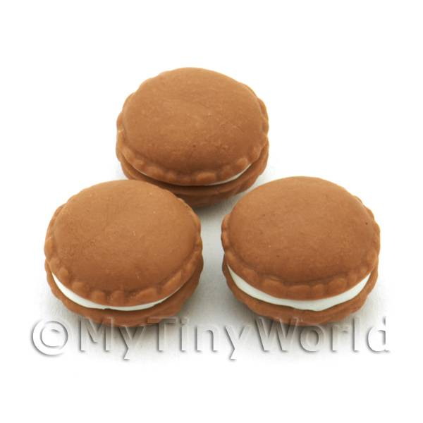 Handmade Chocolate Macaroon For Jewellery And Charms
