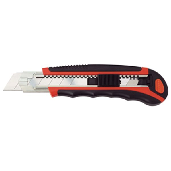 Professional Plastic / Rubber Retractable 25mm Craft Knife