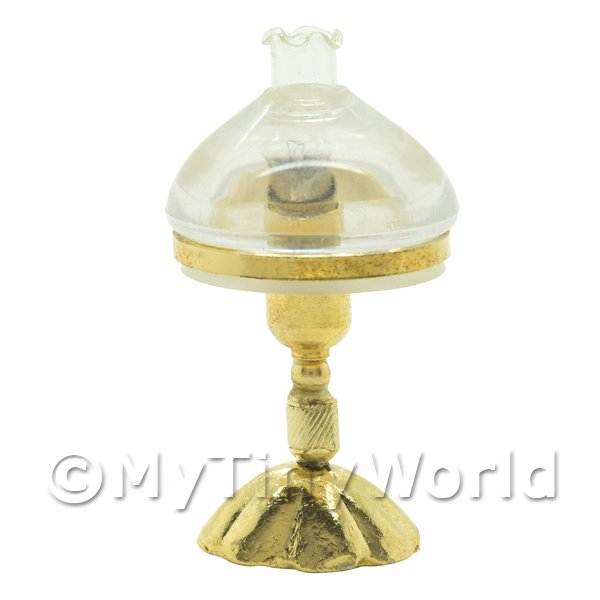 Dolls House Miniature Oil Style Table Lamp