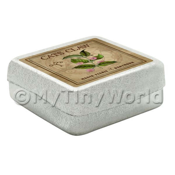 Dolls House Herbalist/Apothecary Cats Claw Square Herb Box