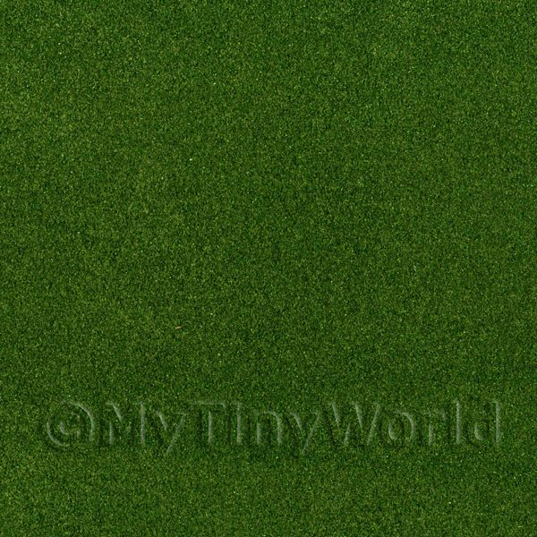 Dolls House Miniature Dark Green Landscape Mat
