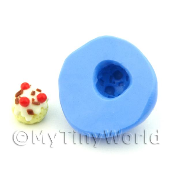 Dolls House Miniature Pudding / Ice Cream Silicone Mould (S1)