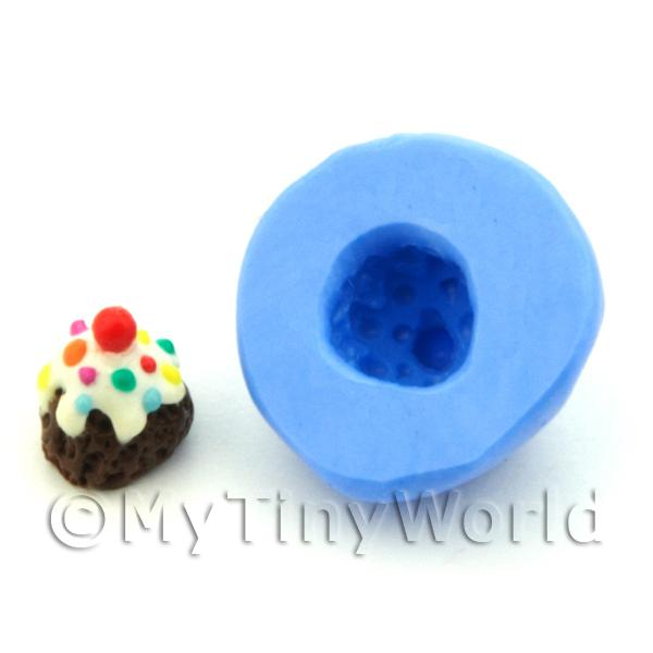 Dolls House Miniature Pudding / Ice Cream Silicone Mould (S2)