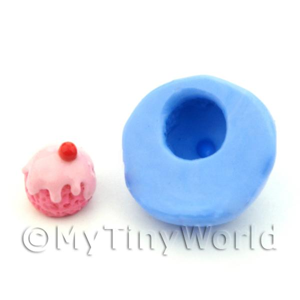 Dolls House Miniature Pudding / Ice Cream Silicone Mould (S3)