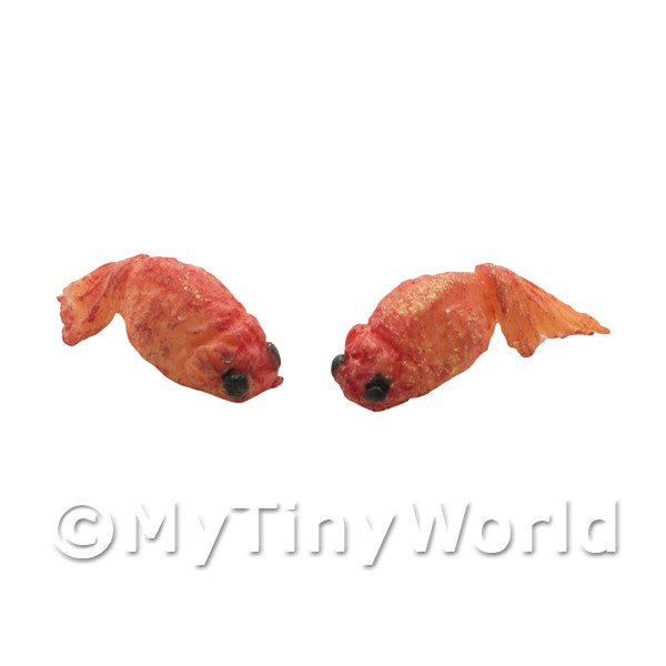 Dollshouse Miniature Small Asian Goldfish