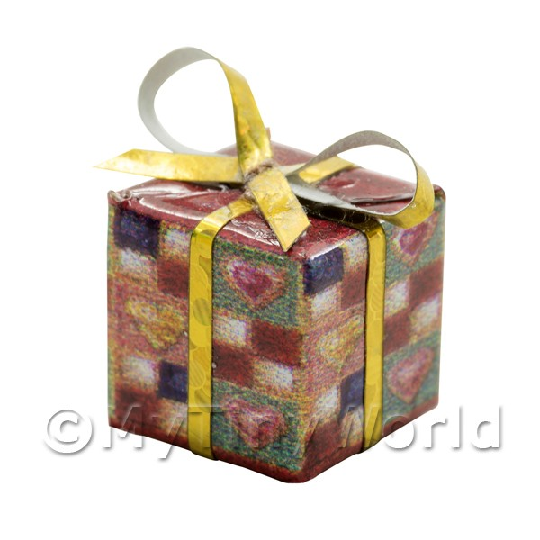 Dolls House Miniature  | Dolls house Miniature  Large Christmas Parcel Style 7