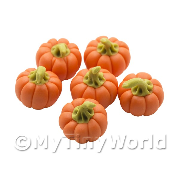 Dolls House Miniature  | Dolls House Miniature Vegetables - Baby Pumpkin