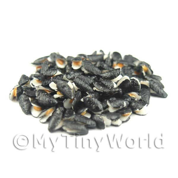 Dolls House Miniature Common UK Black Mussel