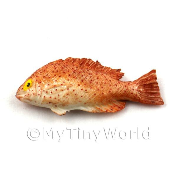 Dolls House Miniature Light Brown Fish