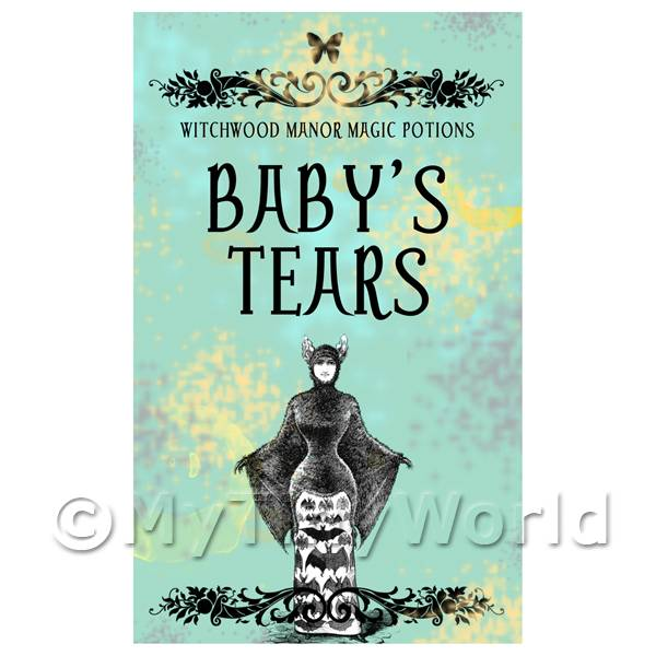 Dolls House Miniature  | Dolls House Miniature Babys Tears Magic Label (S5)