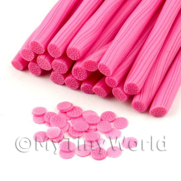 Handmade All Sorts Pink Jelly Cane - Nail Art (11NC56)