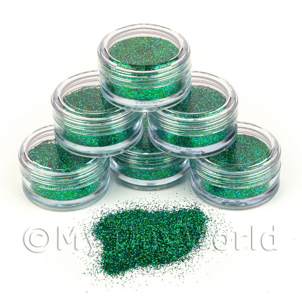1/12 Scale Dolls House Miniatures  | High Quality Nail Art Glitter - 2g Pot - Arabian Nights