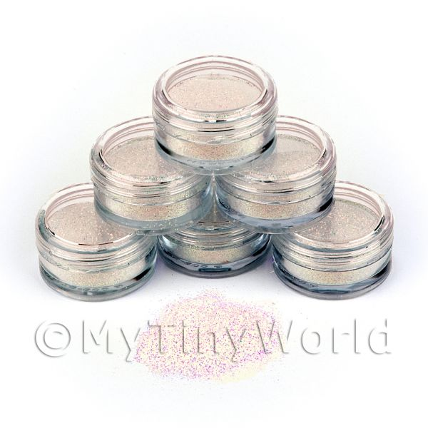 Dolls House Miniature  | High Quality Nail Art Glitter - 2g Pot - Faerie Dust