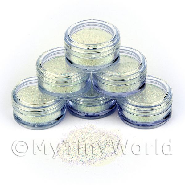 High Quality Nail Art Glitter - 2g Pot - Ocean Mist