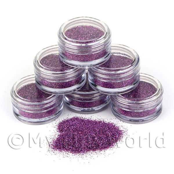 High Quality Nail Art Glitter - 2g Pot - Disco Fever