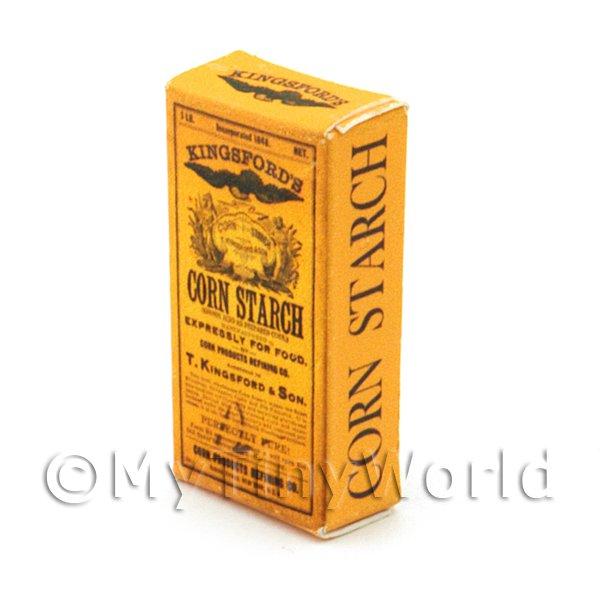 Dollhouse MINIATURE  Size Corn Starch Box