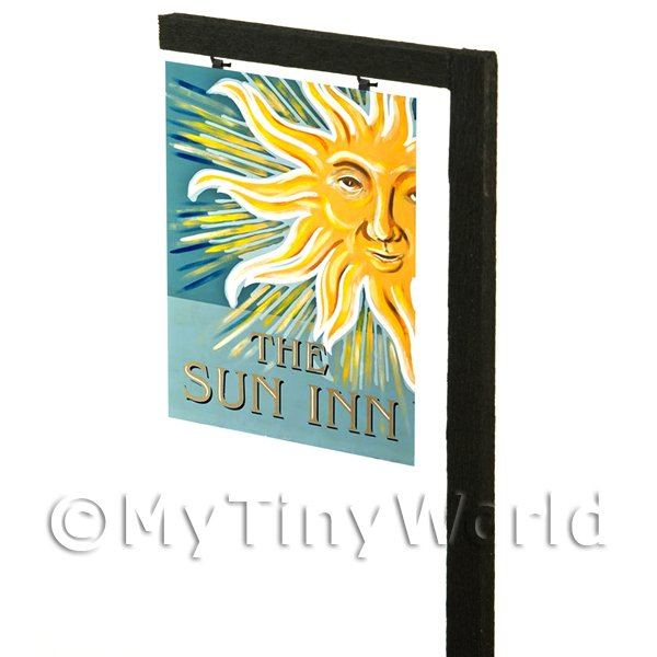 Free Standing Dolls House Pub / Tavern Sign - The Sun Inn