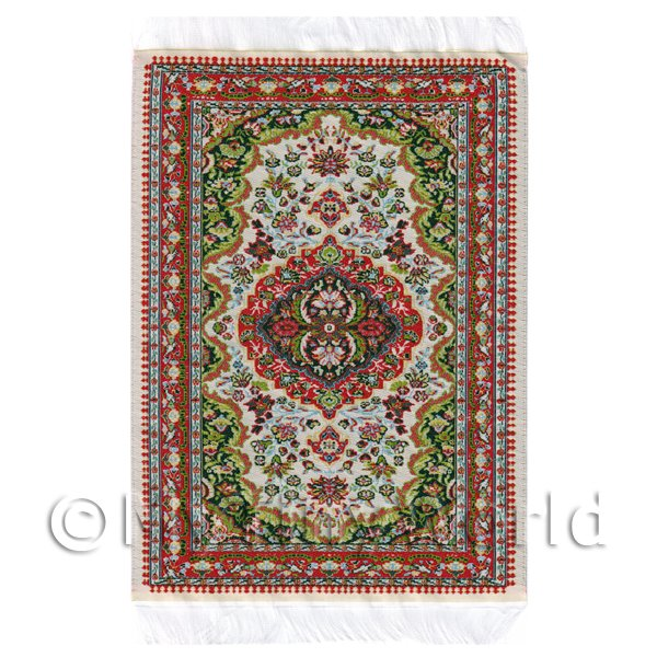 Dolls House Medium 16th Century Rectangular Carpet / Rug (16NMR08)