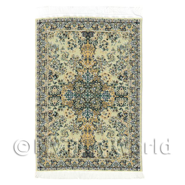 Dolls House Medium 16th Century Rectangular Carpet / Rug (16NMR12)