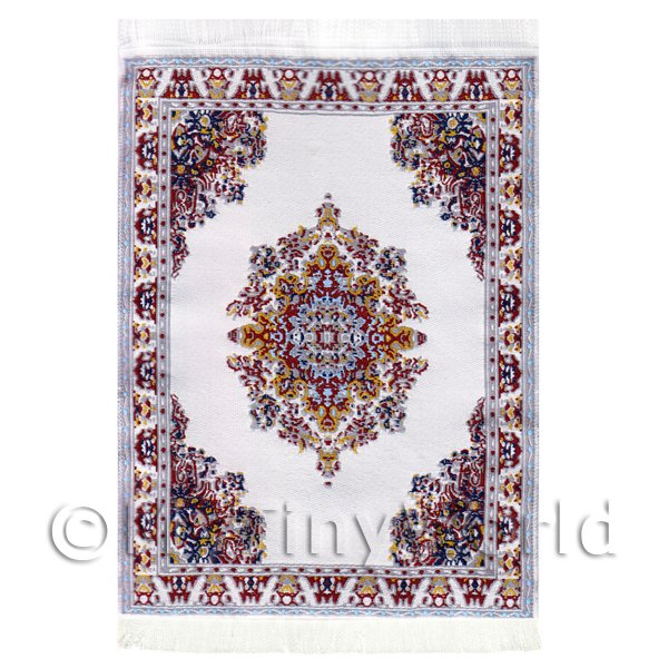 Dolls House Miniature  | Dolls House Small Rectangular Victorian Carpet / Rug  (VCNSR08)