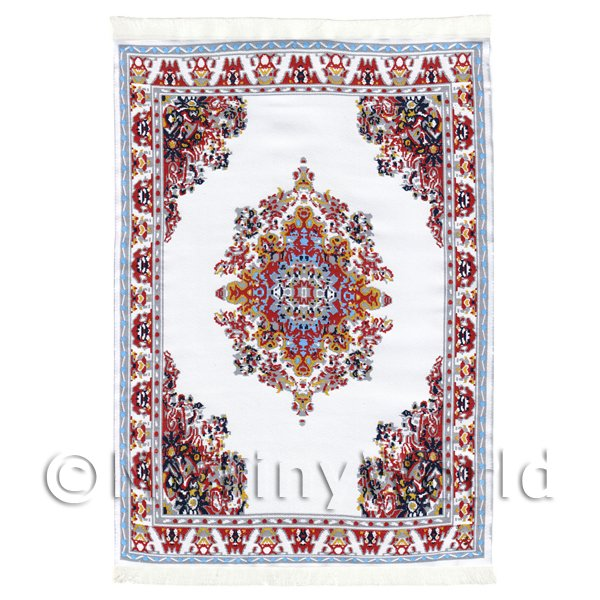 Dolls House Large Rectangular Victorian Carpet / Rug With Runner (VCNLR03)