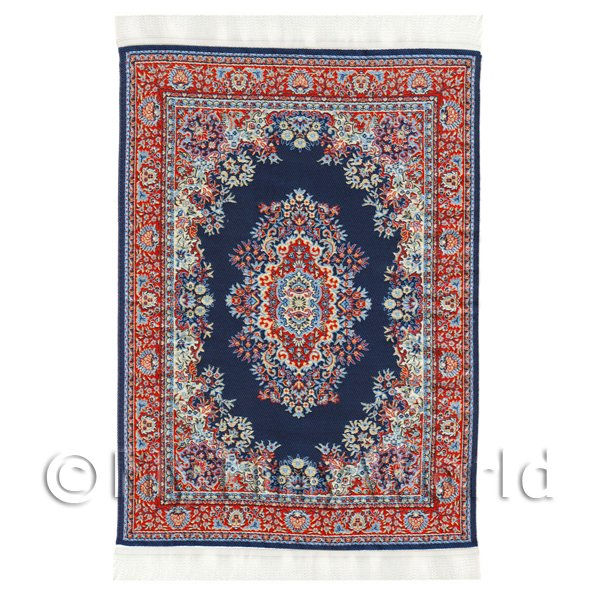Dolls House Miniature  | Dolls House Large Rectangular Victorian Carpet / Rug (vclr04)