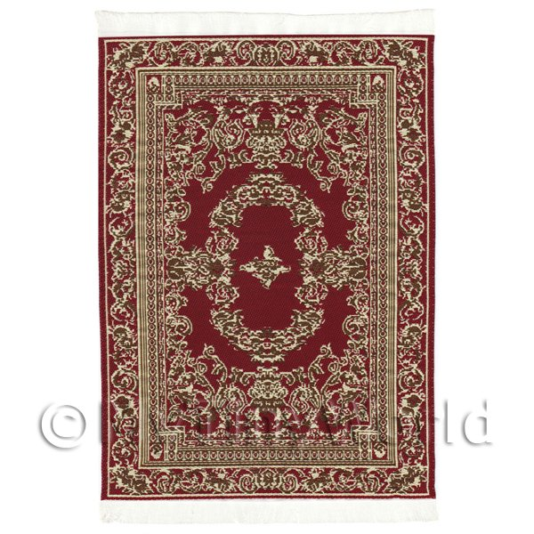 Dolls House Medium French Provincial Rectangular Carpet / Rug (FPMR25)
