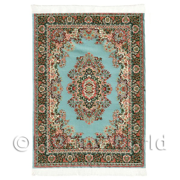 Dolls House Miniature  | Dolls House Large Rectangular Victorian Carpet / Rug (vclr05)