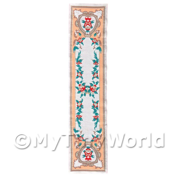 Dolls House Miniature 24cm Woven Turkish Hall Runner (TR001)