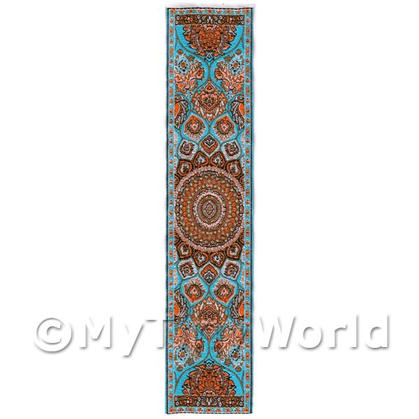 Dolls House Miniature  | Dolls House Miniature 24cm Woven Turkish Hall Runner (TR007)