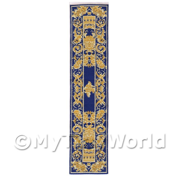 Dolls House Miniature 24cm Woven Turkish Hall Runner (TR008)