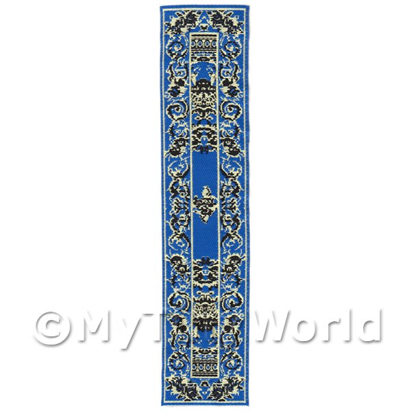 Dolls House Miniature 24cm Woven Turkish Hall Runner (TR012)