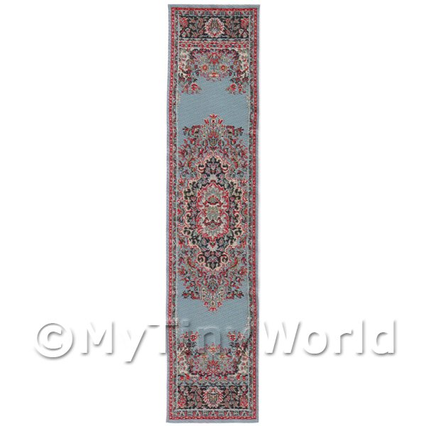 Dolls House Miniature 24cm Woven Turkish Hall Runner (TR013)