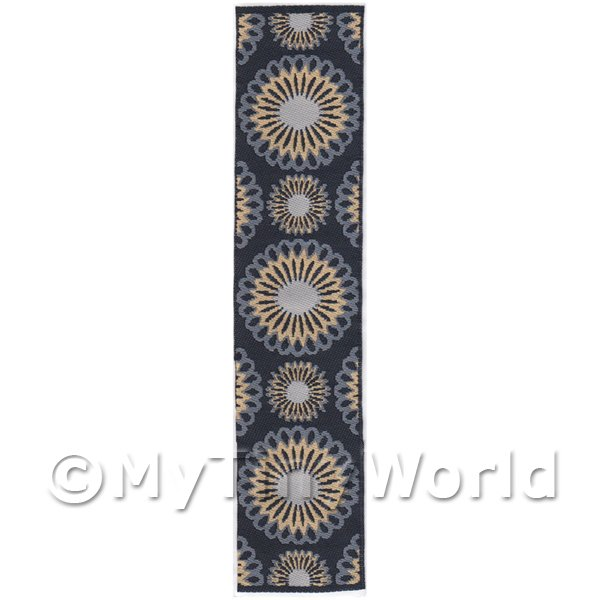 Dolls House Miniature 24cm Woven Turkish Hall Runner (TR015)