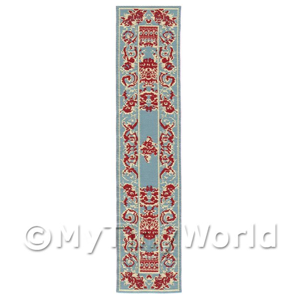 Dolls House Miniature 24cm Woven Turkish Hall Runner (TR044)