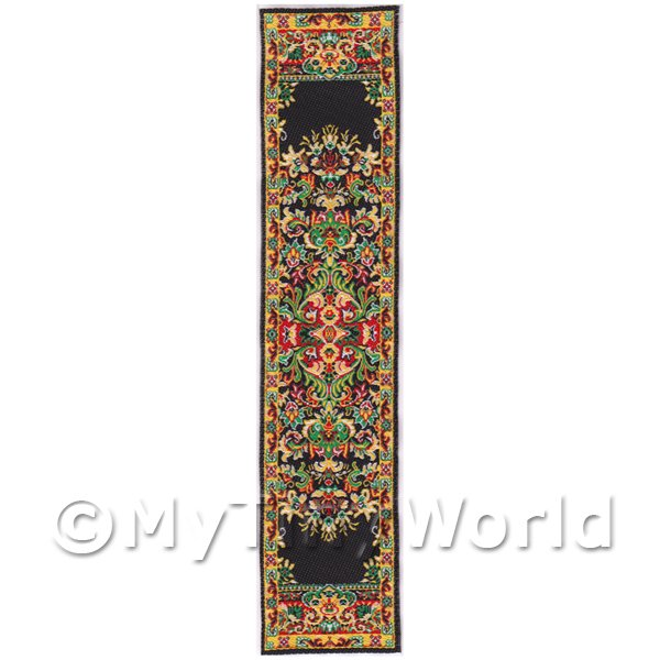 Dolls House Miniature 24cm Woven Turkish Hall Runner (TR055)