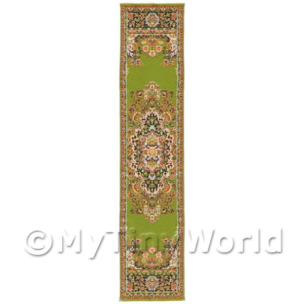 Dolls House Miniature 24cm Woven Turkish Hall Runner (TR063)