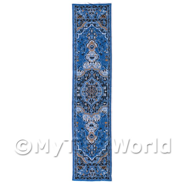 Dolls House Miniature 24cm Woven Turkish Hall Runner (TR084)