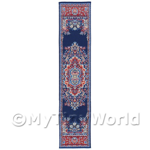 Dolls House Miniature 24cm Woven Turkish Hall Runner (TR087)
