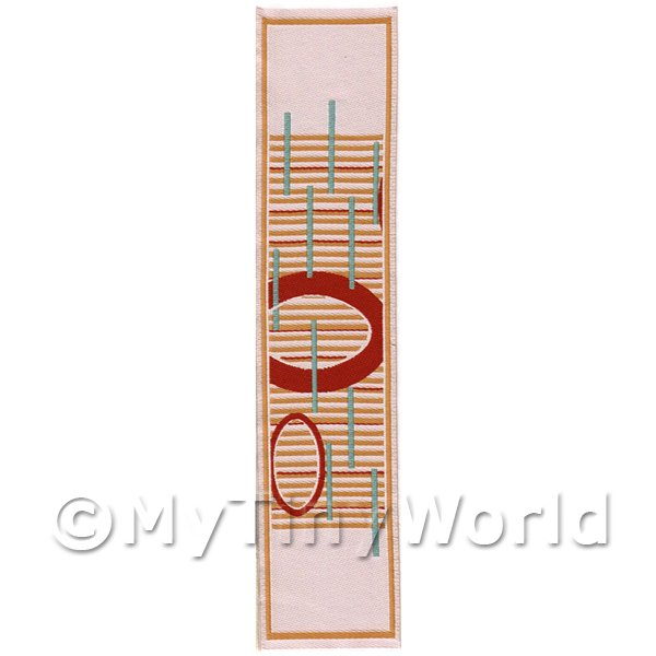 Dolls House Miniature  | Dolls House Miniature 24cm Woven Turkish Hall Runner (TR093)