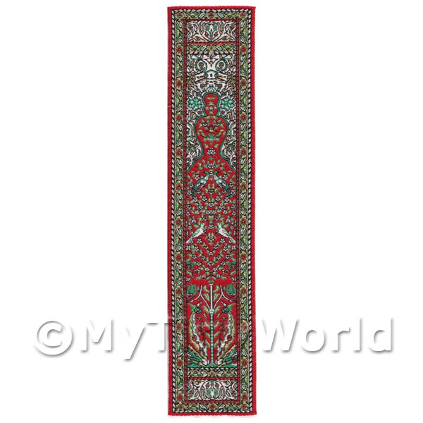 Dolls House Miniature  | Dolls House Miniature 24cm Woven Turkish Hall Runner (TR102)