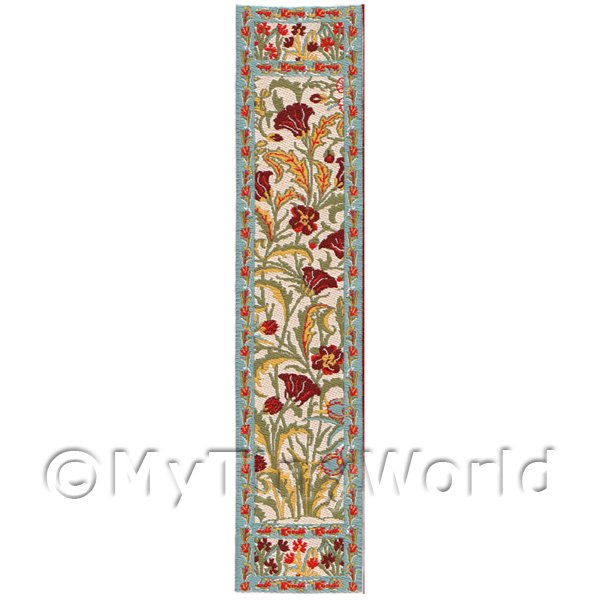Dolls House Miniature  | Dolls House Miniature 24cm Woven Turkish Hall Runner (TR103)
