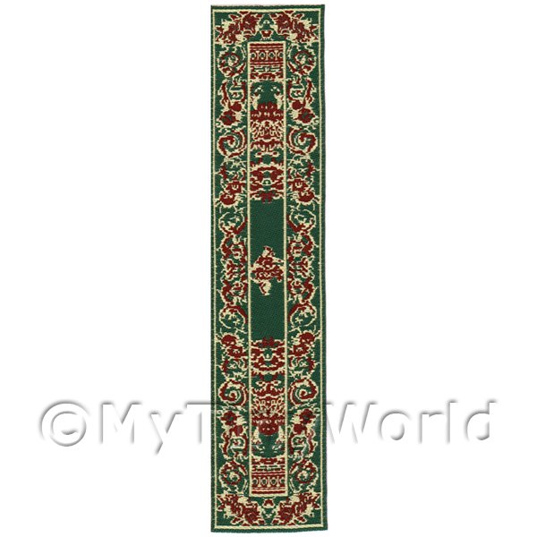 Dolls House Miniature  | Dolls House Miniature 24cm Woven Turkish Hall Runner (TR111)