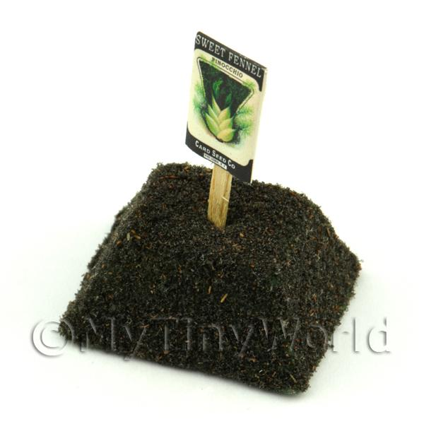 Dolls House Miniature Sweet Fennel Seed Packet With A Stick