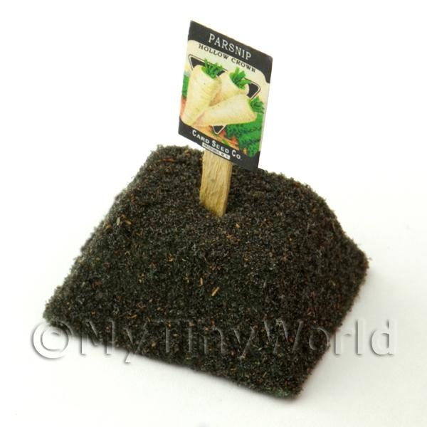 Dolls House Miniature Parsnip Seed Packet With A Stick